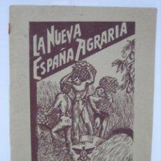 Libros de segunda mano: LA NUEVA ESPAÑA AGRARIA 1937. BILBAO. Lote 142851614