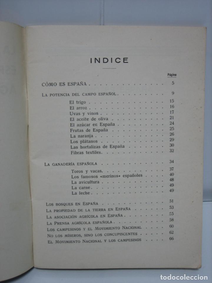 Libros de segunda mano: La nueva España agraria 1937. Bilbao - Foto 3 - 142851614