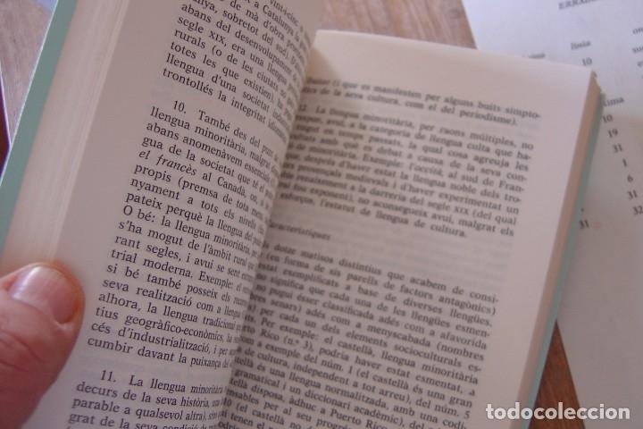 Libros de segunda mano: LLENGUA I SOCIETAT. ANTONI M. BADIA MARGARIT. CL.LECCIÓ ASSAIG 1982. EXCELENTE ESTADO. - Foto 4 - 144411954