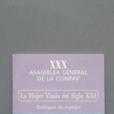 Libros de segunda mano: LA MUJER VIUDA DEL SIGLO XXI. Lote 144732482