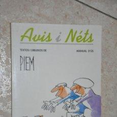 Libros de segunda mano: AVIS I NETS, VER TARIFAS ECONOMICAS ENVIOS. Lote 144790970