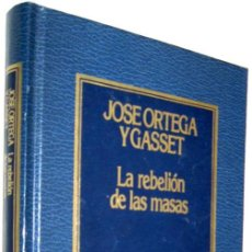 Libros de segunda mano: LA REBELION DE LAS MASAS - JOSE ORTEGA Y GASSET - ENE. Lote 147372190