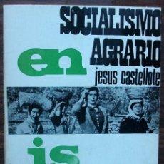 Libros de segunda mano: SOCIALISMO AGRARIO EN ISRAEL. JESUS CASTELLOTE LOPEZ. . Lote 148222410