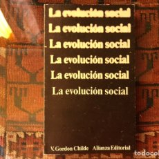 Libros de segunda mano: LA EVOLUCIÓN SOCIAL. V. GORDON CHILDE. Lote 148508554