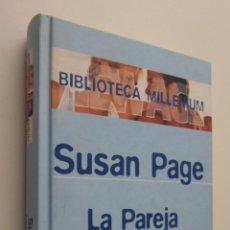 Libros de segunda mano: LA PAREJA ARMÓNICA - PAGE, SUSAN. Lote 148712437