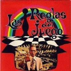 Libros de segunda mano: LAS REGLAS DEL JUEGO DEL PROFESOR JOSE ANTONIO JAUREGUI- ANTROPOLOGIA SOCIAL- ESPASA-CALPE 1977 RTVE. Lote 148924150