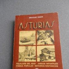 Libros de segunda mano: ASTURIAS. HISTORIAS DEL MAR.... Lote 148964078
