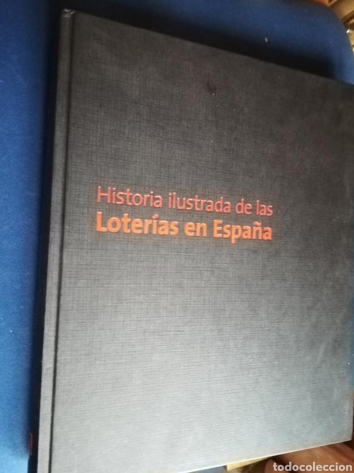 HISTORIA ILUSTRADA DE LAS LOTERÍAS EN ESPAÑA POR ROBERTO GARCÍA, 2007 (Libros de Segunda Mano - Pensamiento - Sociología)