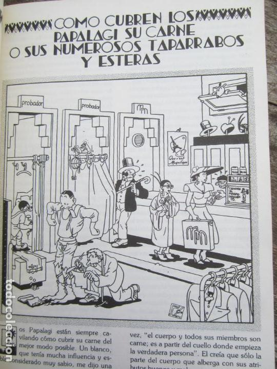 Libros de segunda mano: LOS PAPALAGI , discursos de TUIAVII DE TIAVEA jefe samoano , editado por integral - Foto 5 - 149571806
