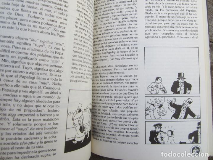 Libros de segunda mano: LOS PAPALAGI , discursos de TUIAVII DE TIAVEA jefe samoano , editado por integral - Foto 11 - 149571806