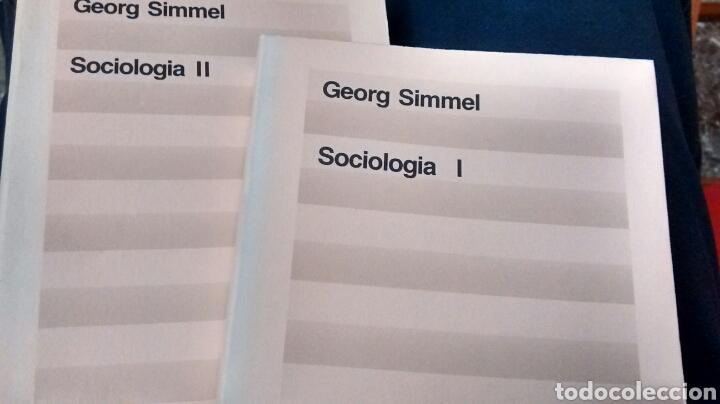 SOCIOLOGIA DE GEORGE SIMMEL ( ED 62) (Libros de Segunda Mano - Pensamiento - Sociología)