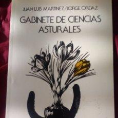 Libros de segunda mano: GABINETE DE CIENCIAS ASTURALES. JUAN LUIS MARTÍNEZ, JORGE ORDAZ. TRIBUNA CIUDADANA. KRK EDICIONES. A. Lote 151117542