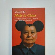 Libros de segunda mano: MADE IN CHINA. - MANEL OLLE. EDITORIAL DESTINO. TDK363. Lote 151192986