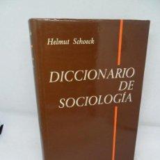 Libros de segunda mano: DICCIONARIO DE SOCIOLOGÍA, HELMUT SCHOECK, ED. HERDER. Lote 152917850