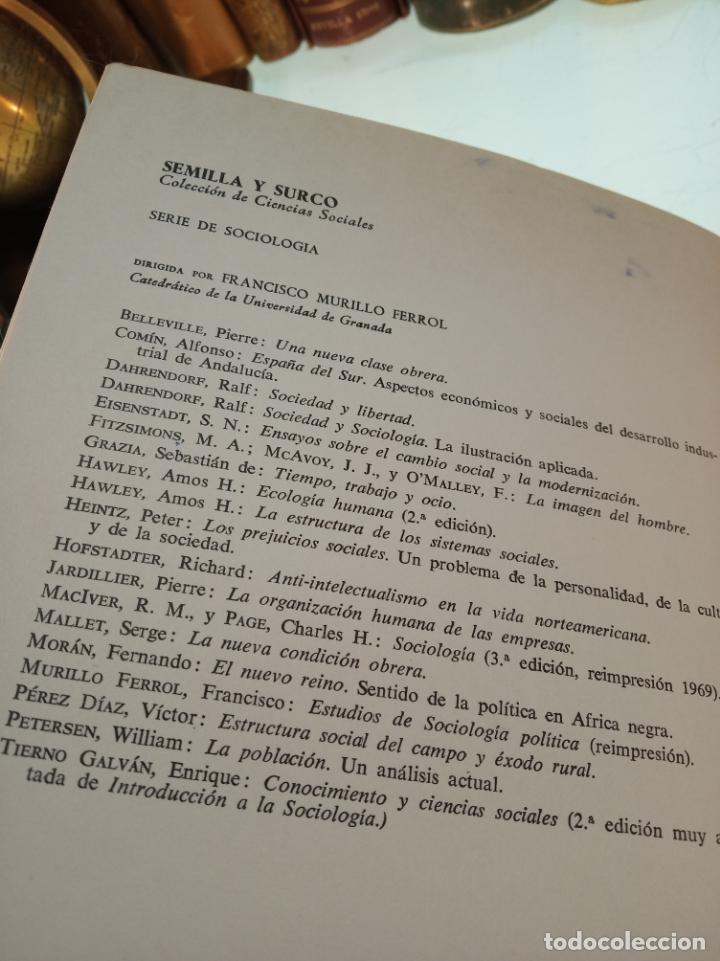 Libros de segunda mano: LA SOCIOLOGÍA AVENTURA DIALÉCTICA - LUIS GONZALEZ SEARA - EDITORIAL TECNOS - FIRMADO Y DEDICADO 1971 - Foto 3 - 153823674
