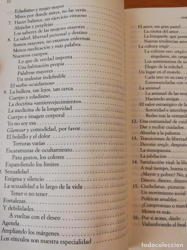 Libros de segunda mano: TAN FRESCAS. LAS NUEVAS MUJERES MAYORES DEL SIGLO XXI (ANNA FREIXAS FARRÉ) 3ª EDICIÓN - Foto 4 - 153829986