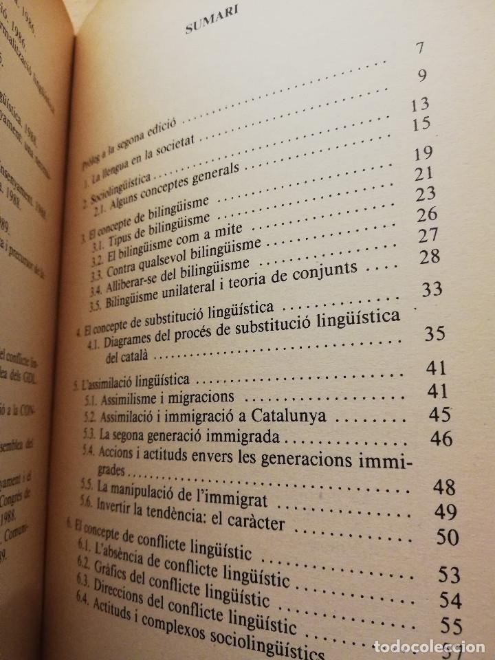 Libros de segunda mano: SOCIOLINGÜÍSTICA PER A JOVES. UNA PERSPECTIVA CATALANA (JORDI SOLÉ I CAMARDONS) - Foto 3 - 154046810