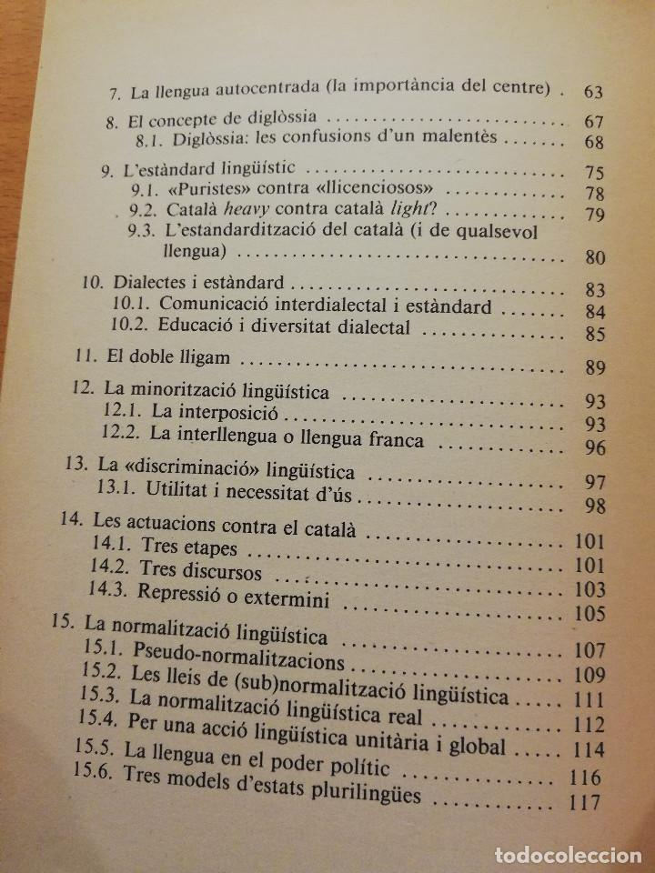 Libros de segunda mano: SOCIOLINGÜÍSTICA PER A JOVES. UNA PERSPECTIVA CATALANA (JORDI SOLÉ I CAMARDONS) - Foto 4 - 154046810