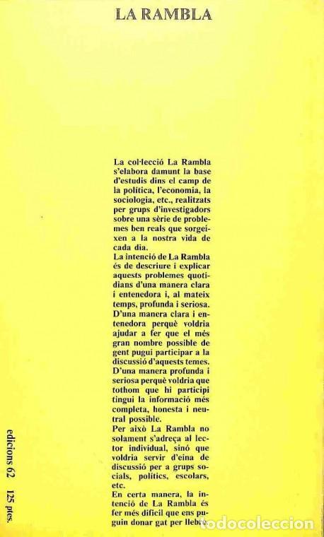 Libros de segunda mano: Què Fan Els Ajuntaments? - Edicions 62 - La Rambla - Foto 2 - 154075137