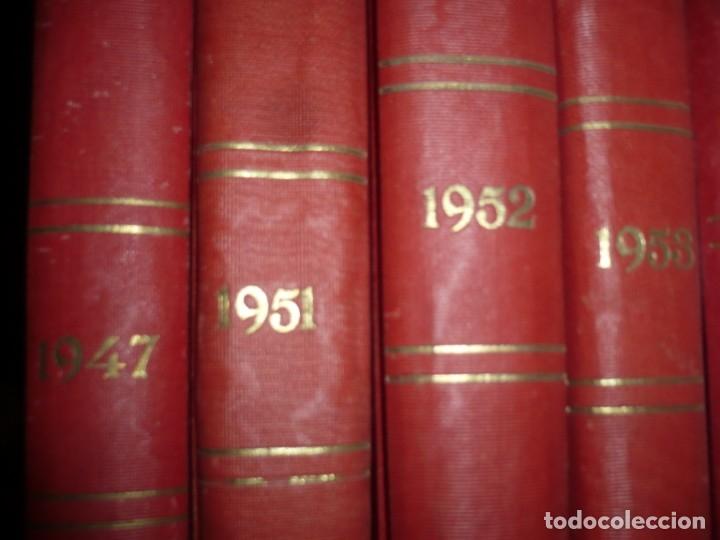 Libros de segunda mano: LA FAMILIA REVISTA MORAL MENSUAL ILUSTRADA DEL HOGAR AÑOS 1947-51-52-53-55-57 BARCELONA - Foto 14 - 154869770