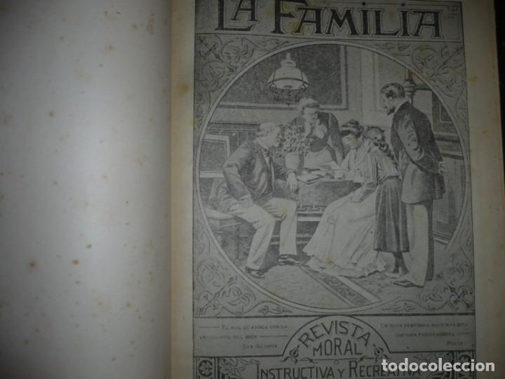 Libros de segunda mano: LA FAMILIA REVISTA MORAL MENSUAL ILUSTRADA DEL HOGAR AÑOS 1947-51-52-53-55-57 BARCELONA - Foto 2 - 154869770