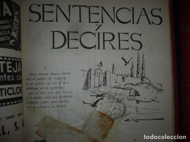 Libros de segunda mano: LA FAMILIA REVISTA MORAL MENSUAL ILUSTRADA DEL HOGAR AÑOS 1947-51-52-53-55-57 BARCELONA - Foto 6 - 154869770