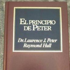 Libros de segunda mano: EL PRINCIPIO DE PETER. DR.LAURENCE J.PETER RAYMOND HULL. Lote 156449680