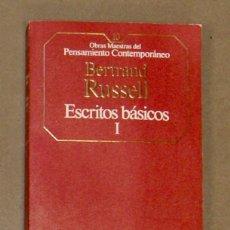 Libros de segunda mano: ESCRITOS BÁSICOS I BERTRAND RUSSELL . Lote 157388382