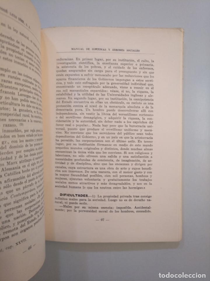 Libros de segunda mano: MANUAL DE SISTEMAS Y ERRORES SOCIALES. DIEZ, - JOSE LUIS. - TDK380 - Foto 2 - 158706426