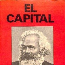 Libros de segunda mano: EL CAPITAL - KARL MARX - EDICIONES PETRONIO - NUEVOS TIEMPOS. Lote 158722442