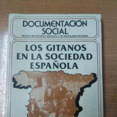 Libros de segunda mano: LOS GITANOS EN LA SOCIEDAD ESPAÑOLA POR FRANCISCO SALINAS Y OTROS, DOCUMENTACIÓN SOCIAL MADRID. Lote 159140454