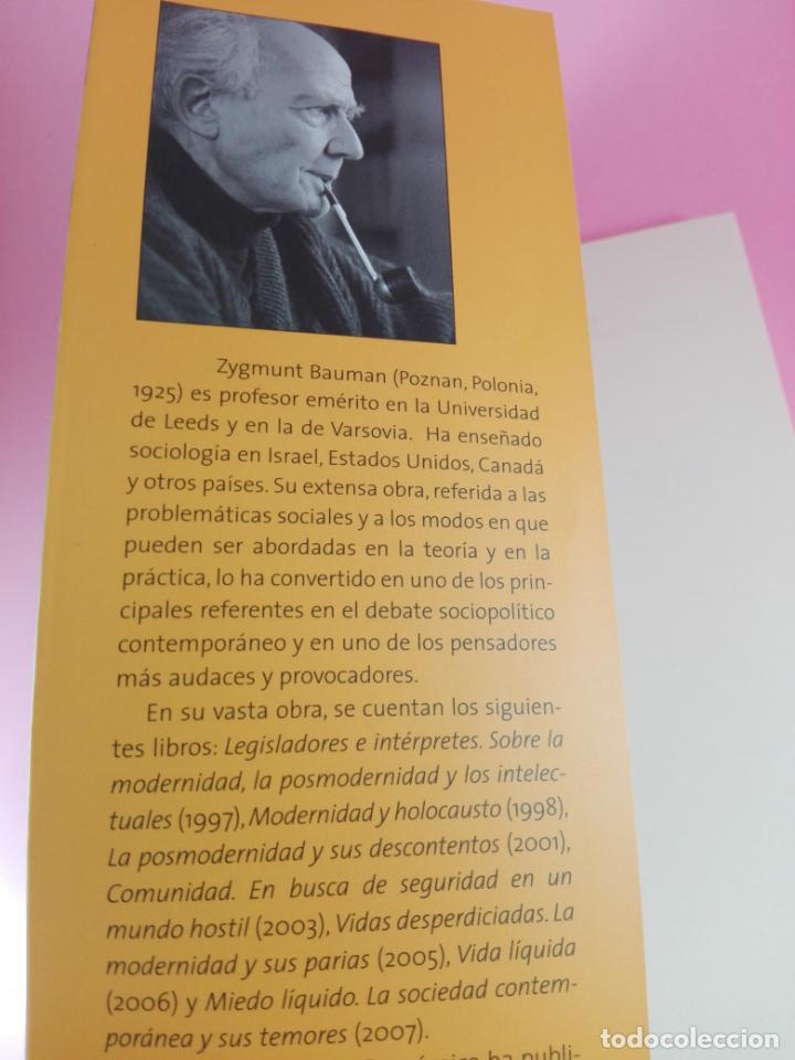 Libros de segunda mano: LIBRO-VIDA DE CONSUMO-ZYGMUNT BAUMAN-1ªEDICIÓN-2007-IMPOLUTO-VER FOTOS. - Foto 9 - 178863106