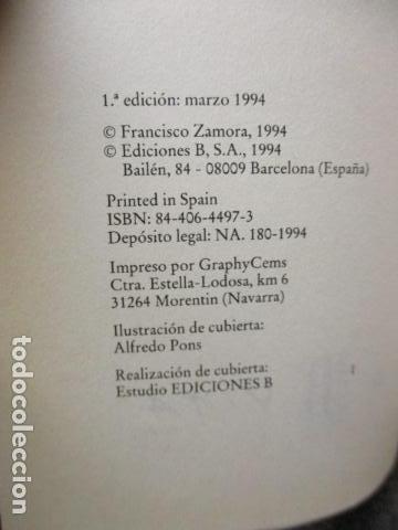 Libros de segunda mano: CÓMO SER NEGRO Y NO MORIR EN ARAVACA - FRANCISCO ZAMORA, - Foto 5 - 263100280