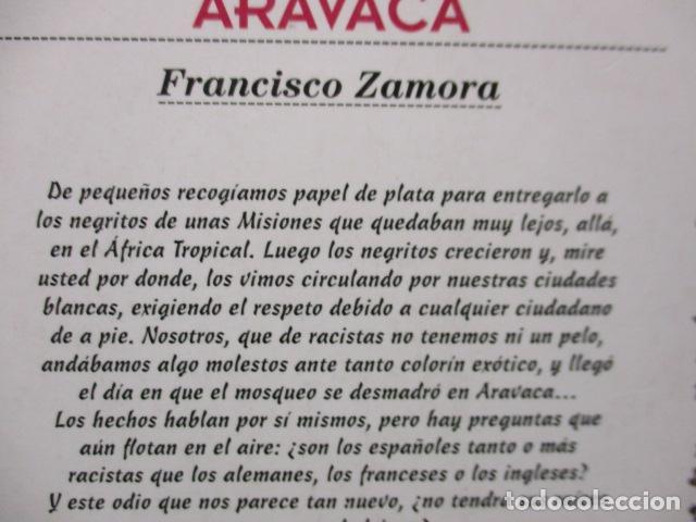 Libros de segunda mano: CÓMO SER NEGRO Y NO MORIR EN ARAVACA - FRANCISCO ZAMORA, - Foto 9 - 263100280