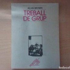 Libros de segunda mano: TREBALL DE GRUP - ALLAN BROWN. Lote 160715294