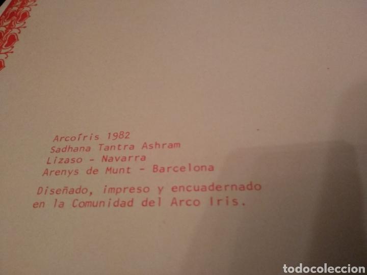 Libros de segunda mano: DESPERTAR INTERIOR Y CAMBIO COLECTIVO. ESCUELA TANTRICA COMUNIDAD ARCOIRIS. DEDICATORIA. - Foto 3 - 161511209