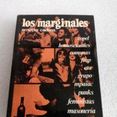 Livros em segunda mão: LOS MARGINALES – E. CADENA – COPEL – ETA GRAPO – FRAP - PUNKS – COMUNAS …. Lote 164906754