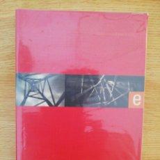 Libros de segunda mano: EL DESORDEN ESTÉTICO. ENSAYOS. GERARD VILAR. IDEA BOOKS, 2000.. Lote 164911026