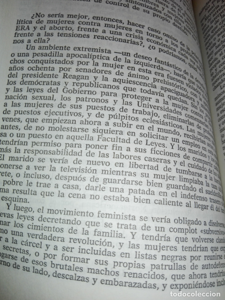 Libros de segunda mano: LIBRO-LA SEGUNDA FASE-BETTY FRIEDAN.PLAZA & JANÉS-1ªEDICIÓN-MARZO 1983-EXCELENTE ESTADO-VER FOTOS - Foto 10 - 165124950