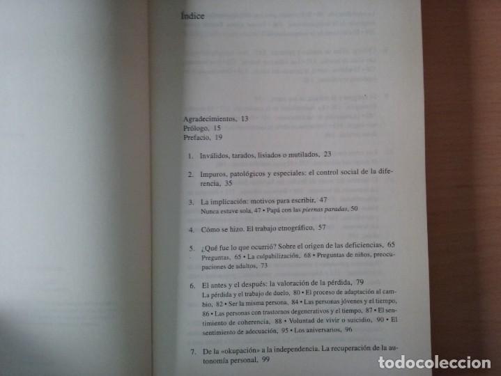 Libros de segunda mano: DISCAPACITADOS: LA REIVINDICACIÓN DE LA IGUALDAD EN LA DIFERENCIA - MARTA ALLUE - Foto 2 - 165729590