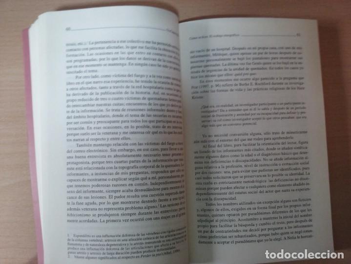 Libros de segunda mano: DISCAPACITADOS: LA REIVINDICACIÓN DE LA IGUALDAD EN LA DIFERENCIA - MARTA ALLUE - Foto 7 - 165729590