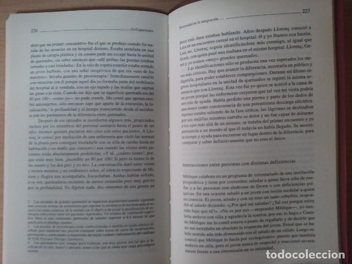 Libros de segunda mano: DISCAPACITADOS: LA REIVINDICACIÓN DE LA IGUALDAD EN LA DIFERENCIA - MARTA ALLUE - Foto 8 - 165729590