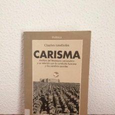 Libros de segunda mano: CARISMA - CHARLES LINDHOLM - GEDISA. Lote 165772938
