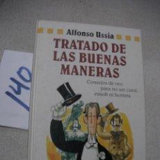 Libros de segunda mano: TRATADO DE LAS BUENAS MANERAS. Lote 166721346