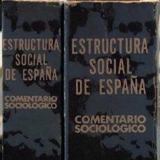Libros de segunda mano: COMENTARIO SOCIOLOGICO. POR J. LEIB Y G. MERTINS. OBRA EN DOS TOMOS. MADRID, 1980. . Lote 166985404