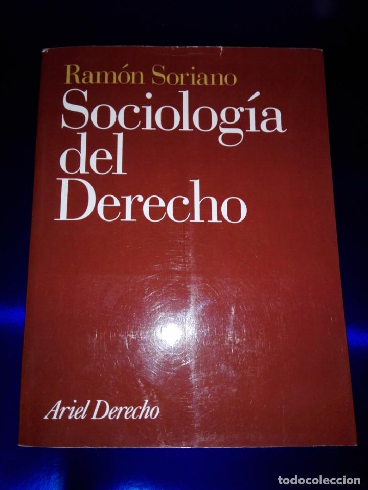 Libros de segunda mano: libro-sociología del derecho-ramón soriano-EDITORIAL ARIEL-2011-excelente estado-ver fotos - Foto 3 - 176327850