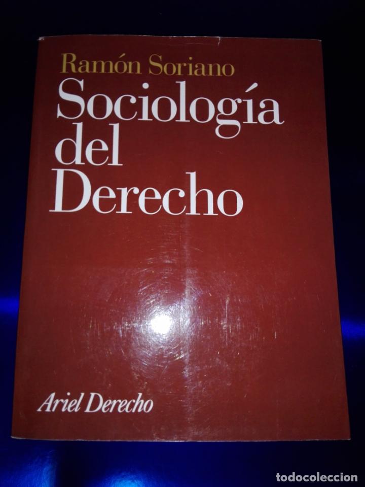 Libros de segunda mano: libro-sociología del derecho-ramón soriano-EDITORIAL ARIEL-2011-excelente estado-ver fotos - Foto 7 - 176327850