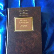 Libros de segunda mano: ASÍ HABLO ZARATHUSTRA NIETZSCHE. Lote 168248425