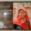 Libros de segunda mano: MUJERES DE CINCO MUNDOS. LUCAS, JUAN ÁNGEL. DIPUTACIÓN DE ALBACETE AÑO 2007. . Lote 169157448