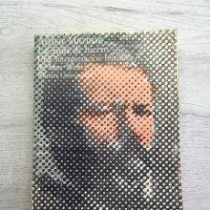 Libros de segunda mano: ARTHUR MITZMAN. LA JAULA DE HIERRO: UNA INTERPRETACIÓN HISTÓRICA DE MAX WEBER. Lote 169457268